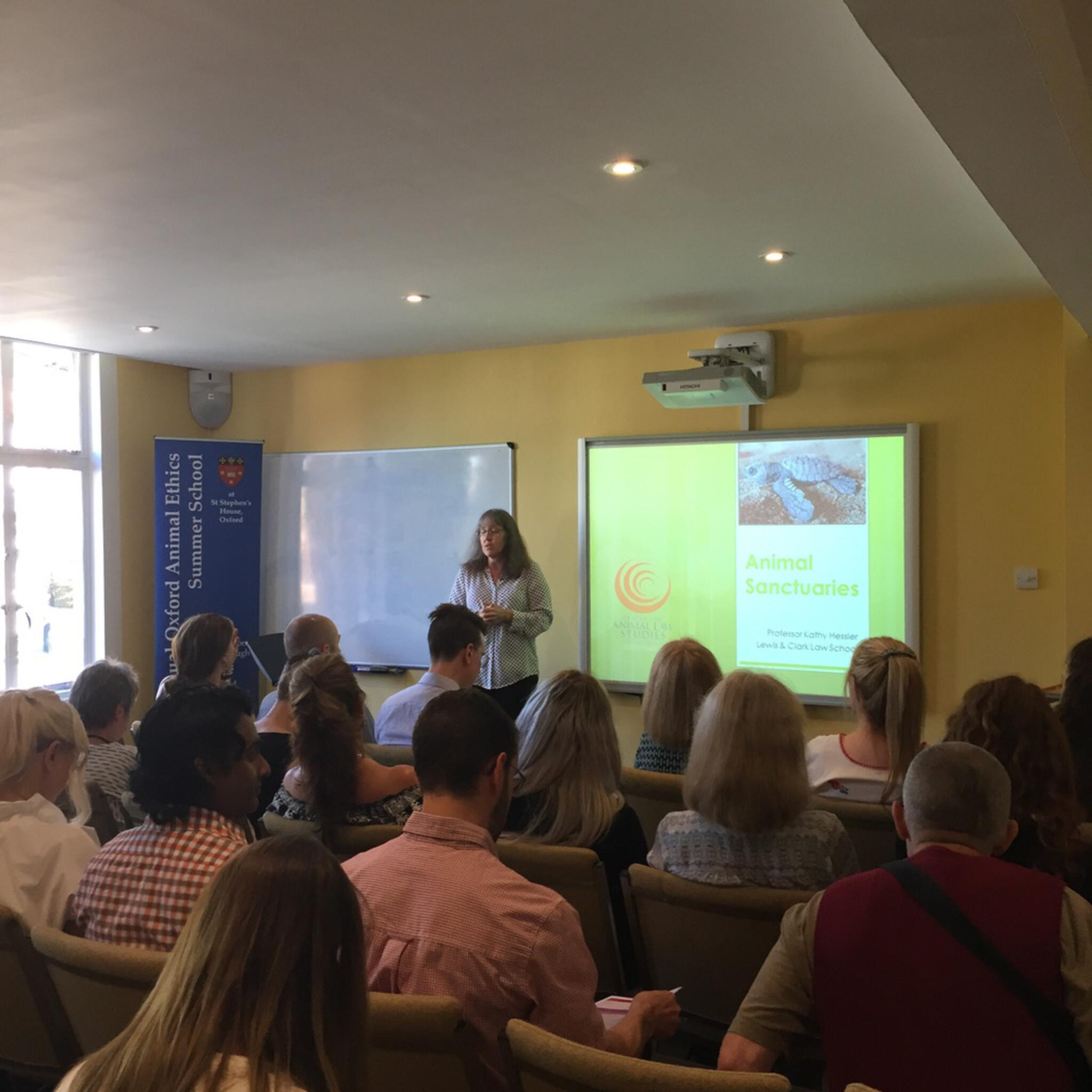 Summer School 2018: Animal Ethics and Law: Creating Positive Change for Animals