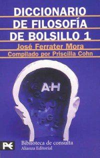 book cover - Diccionario de filosofía de bolsillo (Pocket Dictionary of Philosophy) I
