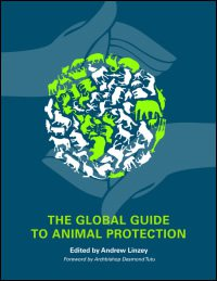 book cover - The Global Guide to Animal Protection