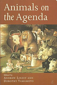 book cover - Animals on the Agenda: Questions about Animals for Theology and Ethics