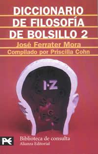 book cover - Diccionario de filosofía de bolsillo (Pocket Dictionary of Philosophy) II