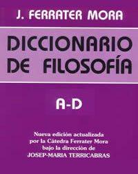 book cover - Diccionario de filosofía I