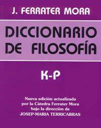 book cover - Diccionario de filosofía III