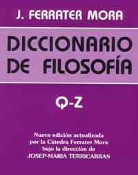 book cover - Diccionario de filosofía IV