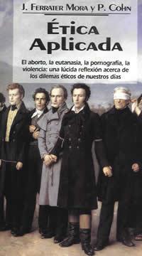 book cover - Etica aplicada: (Popular edition) Del aborto a la violencia (Applied Ethics: from Abortion to Violence)