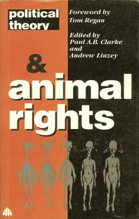 book cover - Political Theory and Animal Rights